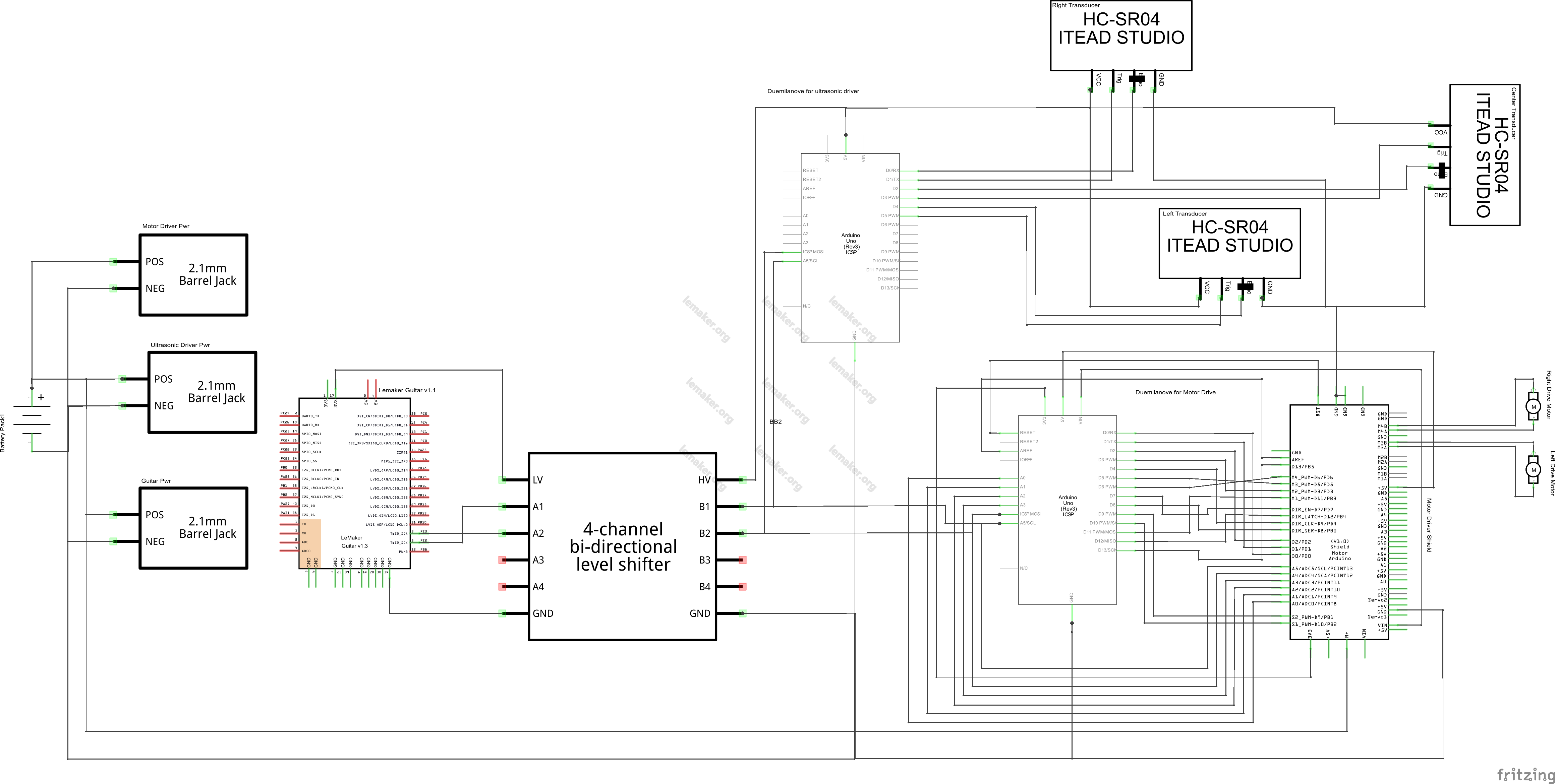 fritzing schematic.